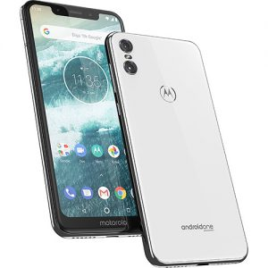 Smartphone Motorola One 64GB Dual Chip Android Oreo 8.1 Tela 5.9″ 2.0 GHz Octa-Core Qualcomm 4G Câmera 13 + 2MP (Dual Traseira) – Branco