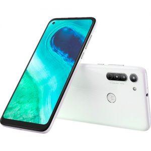 Smartphone Motorola Moto G8 64GB Dual Chip Android 6,4″ Qualcomm Snapdragon 665 (SM6125) 4G Câmera Traseira 16MP + 8MP + 2MP Foco à Laser Filmadora 4K – Branco Prisma